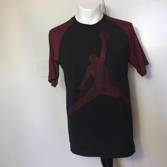 146900606f6 Jordan Shirts   Michael S Mens Tshirt Medium Red Black   Poshmark